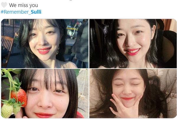 Fan Kpop nhắc nhau tưởng nhớ 1 năm ngày mất Sulli-4