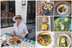 Tăng Thanh Hà đã đẹp thì chớ lại còn nấu ăn kém gì đầu bếp chuyên nghiệp