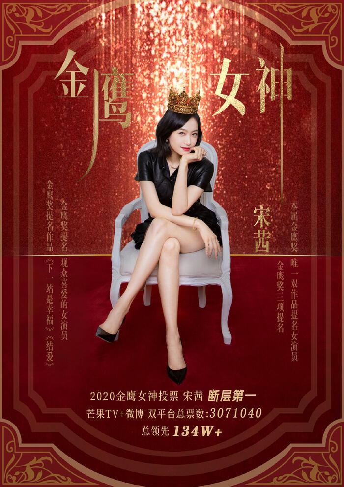 Nữ thần Kim Ưng 2020 chính thức có chủ: Tống Thiến vinh dự được gọi tên-8