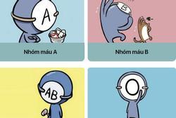 Điều gì trong cuộc đời khiến các nhóm máu A - B - AB - O cảm thấy an toàn nhất?