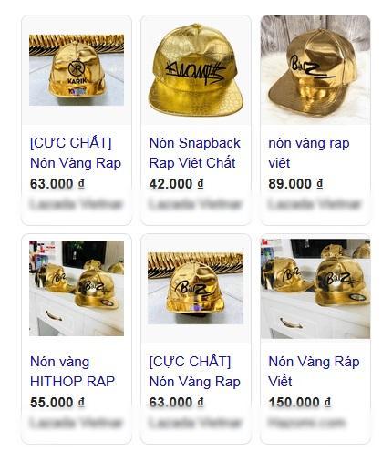 Nón vàng Rap Việt bán khắp lề đường với giá vài chục nghìn đồng-7
