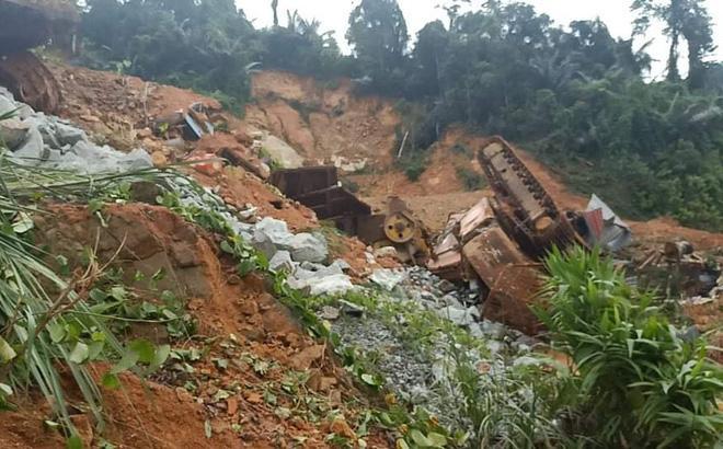 Nhà điều hành thủy điện Rào Trăng 3: Đất đá vùi lấp, khung cảnh tiêu tàn-1