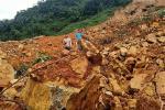 Nhà điều hành thủy điện Rào Trăng 3: Đất đá vùi lấp, khung cảnh tiêu tàn
