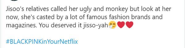 Có ai tin nổi nhan sắc như Jisoo cũng từng bị chế giễu như con khỉ?-6