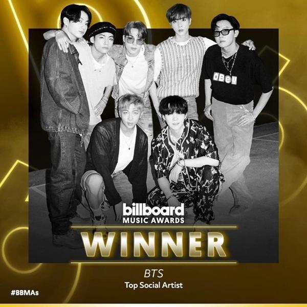ARMY nhảy xếch bất chấp BTS 4 năm liên tiếp giật giải Billboard Music Award-2