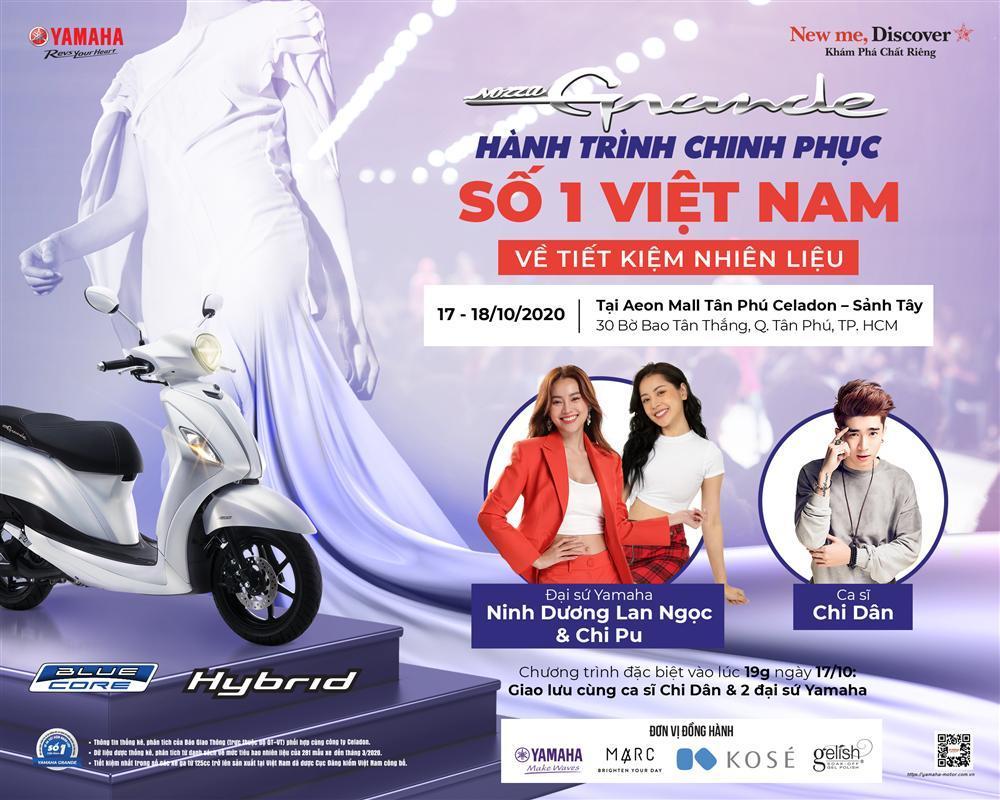 Ninh Dương Lan Ngọc và Chi Pu tụ hội trong đêm tiệc Yamaha Grande Fashion Show-1