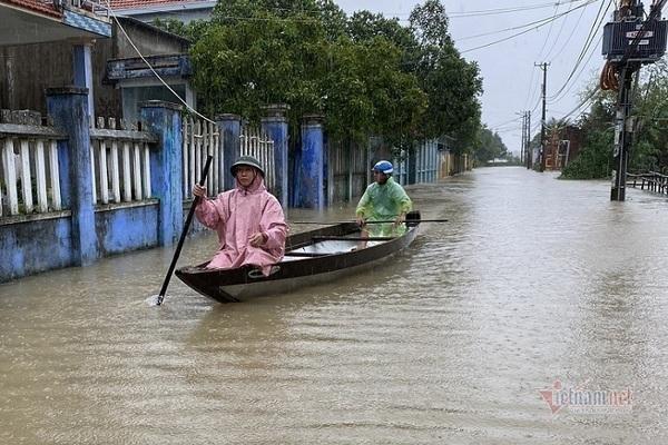 Miền Trung hứng mưa to dữ dội 6 ngày tới, nguy cơ xuất hiện lũ lớn-1