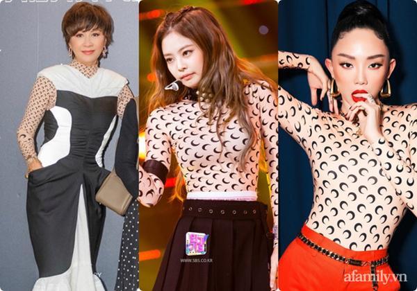U55 vẫn chạy theo trend Kpop, chị đại Lưu Gia Linh nhận ngay cái kết đắng khi đụng hàng Jennie (Black Pink)-6