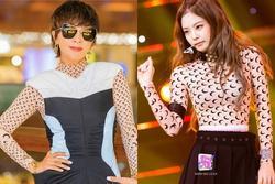 U55 vẫn chạy theo trend Kpop, 'chị đại' Lưu Gia Linh nhận ngay cái kết đắng khi đụng hàng Jennie (Black Pink)