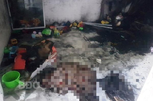 Khóa cửa bên trong rồi nghịch lửa, 2 bé chết thảm vì hỏa hoạn-1