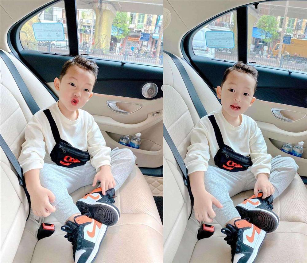 Con trai 4 tuổi của Ly Kute - Mạc Hồng Quân gây bất ngờ với ngoại hình đổi khác-3