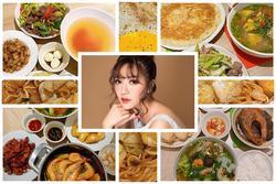 Nếu chưa biết hôm nay ăn gì, cứ nhìn những mâm cơm này của Bích Phương để có thêm gợi ý