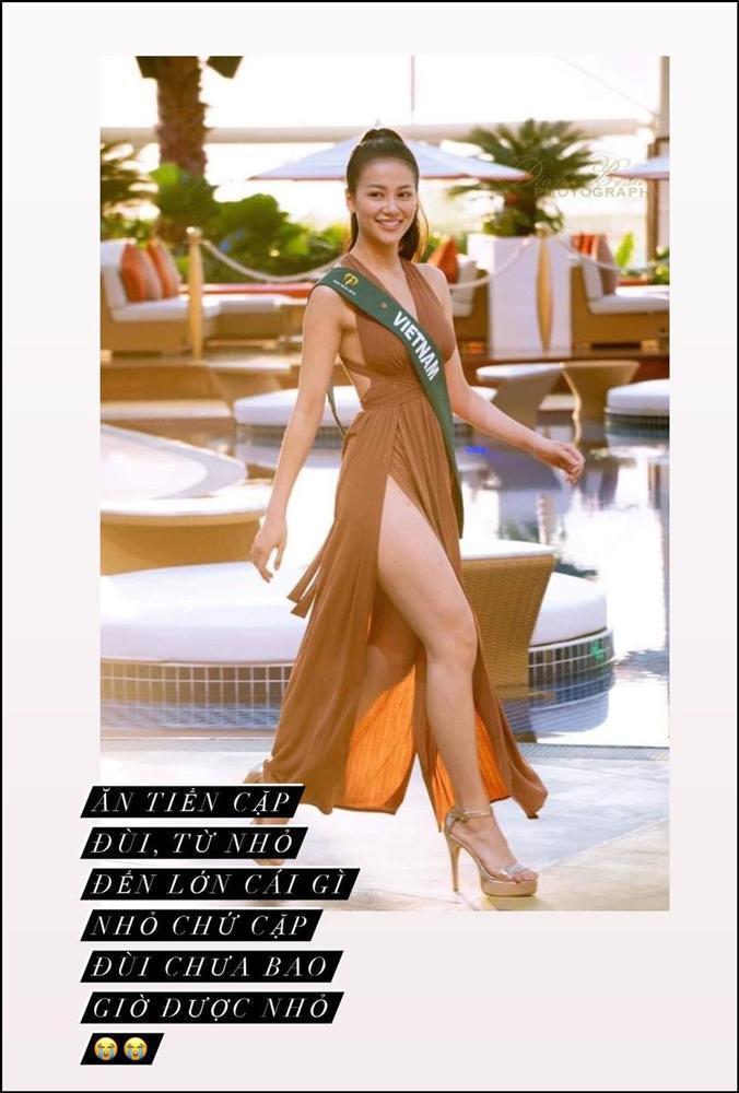Hoa hậu Trái Đất 2018 Nguyễn Phương Khánh dính khuyết điểm rất khó cải thiện-1