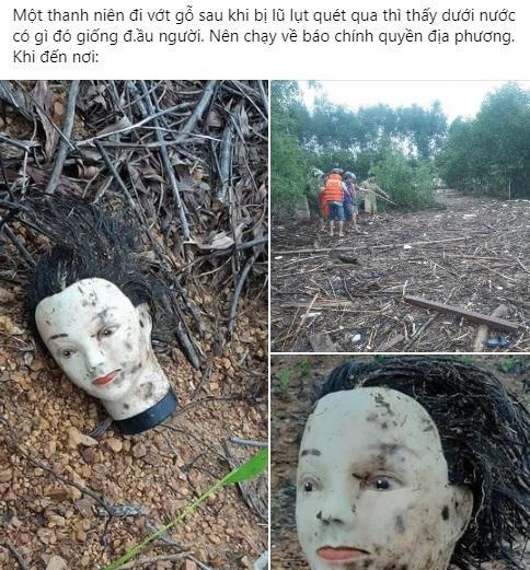 Đi vớt gỗ mùa lũ, thanh niên chạy đứt dép vì vớ phải thứ sờ vào tưởng người chết-1