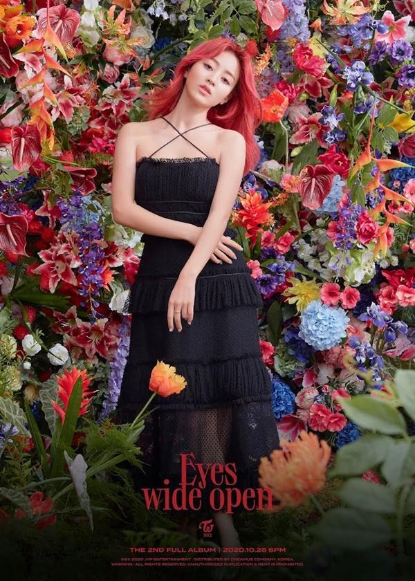 Jihyo (Twice) gây bão Twitter trong teaser album 'Eyes Wide Open'-1