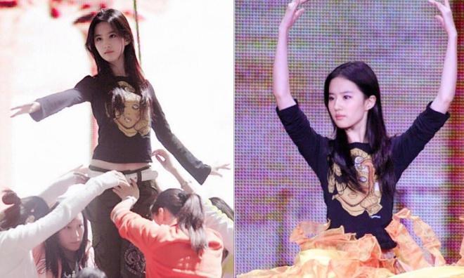 Nhan sắc năm 19 tuổi của Nữ thần Kim Ưng Lưu Diệc Phi-3