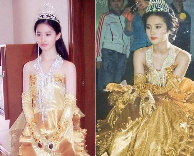 Nhan sắc năm 19 tuổi của Nữ thần Kim Ưng Lưu Diệc Phi-5
