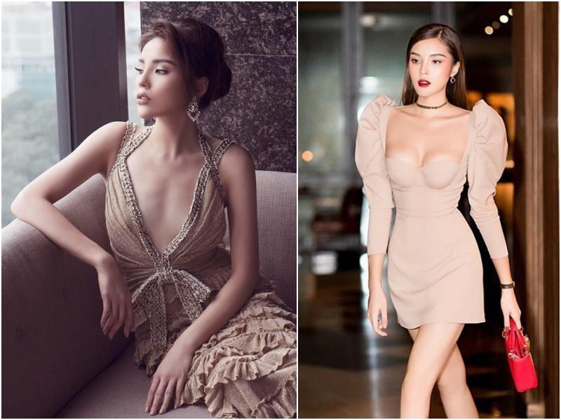 Body đẹp mê, HHen Niê - Đặng Thu Thảo vẫn chào thua trước kiểu váy làm ngực bốc hơi-2