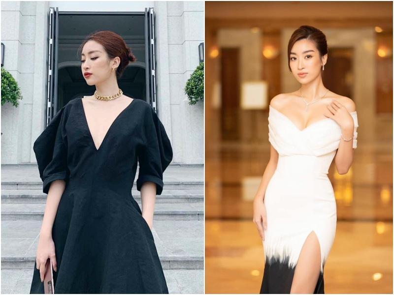 Body đẹp mê, HHen Niê - Đặng Thu Thảo vẫn chào thua trước kiểu váy làm ngực bốc hơi-3