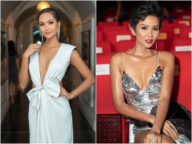 Body đẹp mê, HHen Niê - Đặng Thu Thảo vẫn chào thua trước kiểu váy làm ngực bốc hơi-4