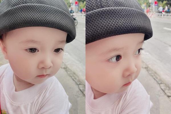 Mới hơn 1 tuổi, cháu trai Nhã Phương đã bộc lộ tố chất hot boy tương lai-2