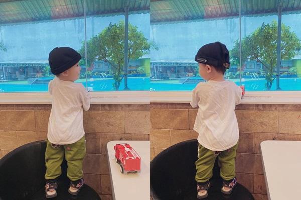 Mới hơn 1 tuổi, cháu trai Nhã Phương đã bộc lộ tố chất hot boy tương lai-3