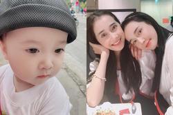 Mới hơn 1 tuổi, cháu trai Nhã Phương đã bộc lộ tố chất hot boy tương lai