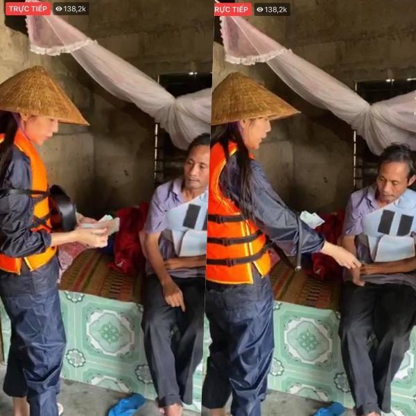 Chuẩn bị bay về Sài Gòn, Thủy Tiên bất ngờ quay xe khi nhận tin Quảng Trị ngập nặng-7