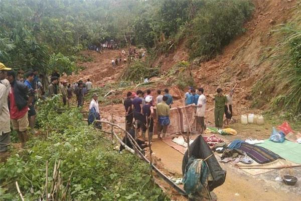 Đi tìm 7 người dân mất tích ở Quảng Trị: Thượng úy công an tử vong, 2 cán bộ bị thương-1