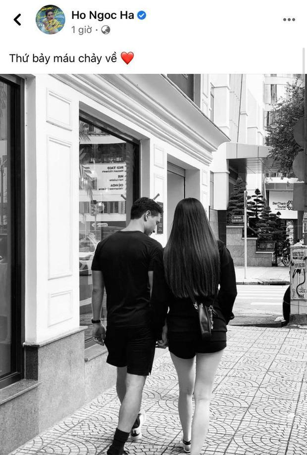 Hà Hồ công khai hẹn hò Kim Lý trước khi vỡ chum, mọi chú ý đổ dồn về vóc dáng mẹ bầu-1