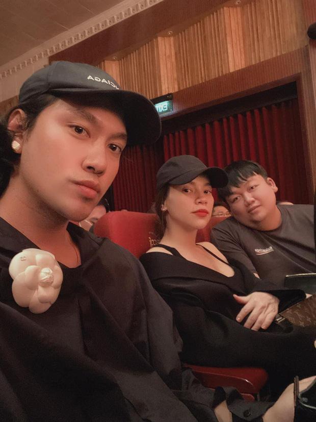 Hà Hồ công khai hẹn hò Kim Lý trước khi vỡ chum, mọi chú ý đổ dồn về vóc dáng mẹ bầu-3
