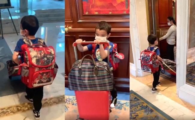 Quý tử lai nhà Thu Minh mới 5 tuổi nhưng cực ga lăng-2