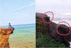 Bão đánh gãy điểm sống ảo 'huyền thoại' ở Quảng Trị khiến dân tình xót xa