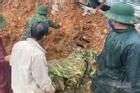 Hình ảnh xé ruột gan nơi tìm kiếm 22 cán bộ chiến sĩ bị vùi lấp ở Quảng Trị