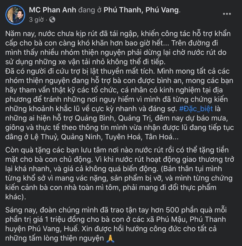 Liên tục bị gọi là MC lũ, MC Phan Anh đã có động thái đầu tiên-3