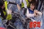 'Running Man' Somin bị chỉ trích vì đạp vào người BLACKPINK Jisoo