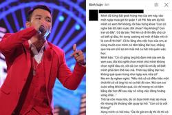 Xúc động mẹ thí sinh Lor chạy xe ôm công nghệ, tự hào khoe con thi 'Rap Việt'