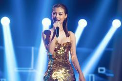 Á hậu Kiều Loan: 'Tôi đi thi rap sụt cân hơn khi thi hoa hậu'