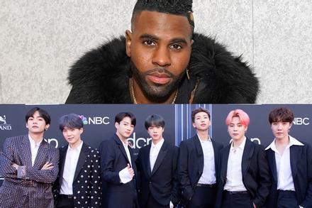 Jason Derulo không một lời nhắc về BTS trong tiệc chúc mừng No.1 Billboard Hot 100