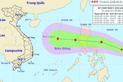 Biển Đông lại sắp hứng bão