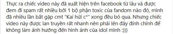 Fan EXO đăng bài đính chính cho Kai, đá xéo fandom ai cũng biết là ai đấy-3