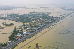 Thông báo phong tỏa khu gian: Minh Lệ - Lệ Sơn và Đồng Chuối - Kim Lũ do ảnh hưởng của mưa lớn tại Quảng Bình