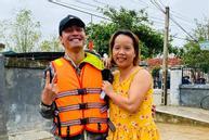Hình ảnh đầu tiên của MC Phan Anh trong hành trình cứu trợ lũ lụt miền Trung