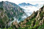 Ngắm biển mây trên dãy Hoàng Sơn