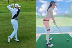 Hăng say với sân golf sau ly hôn, Trọng Hưng bị cà khịa: 'Có gặp cô giáo ở đó không?'