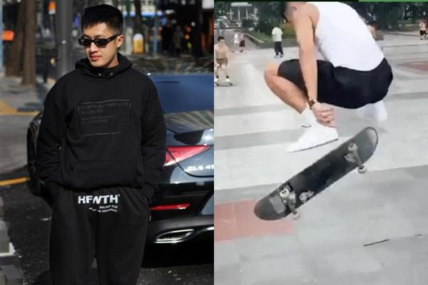 Instagram có anh trai trượt ván rất cool: Là ông chủ trẻ của shop thời trang, body căng cực-2