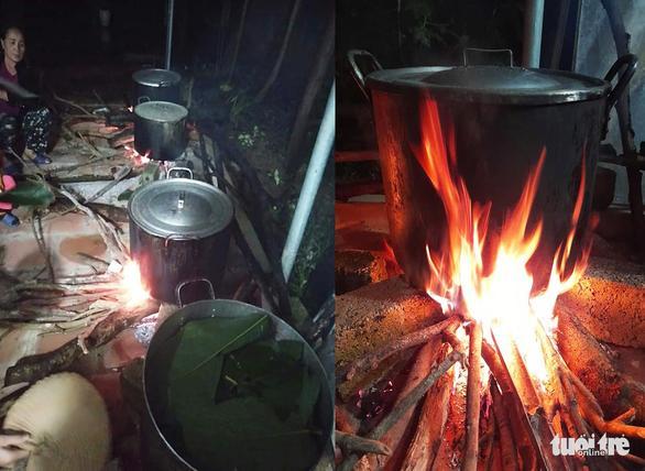 Bà con trắng đêm nấu bánh chưng cứu trợ người dân vùng lũ miền Trung-4