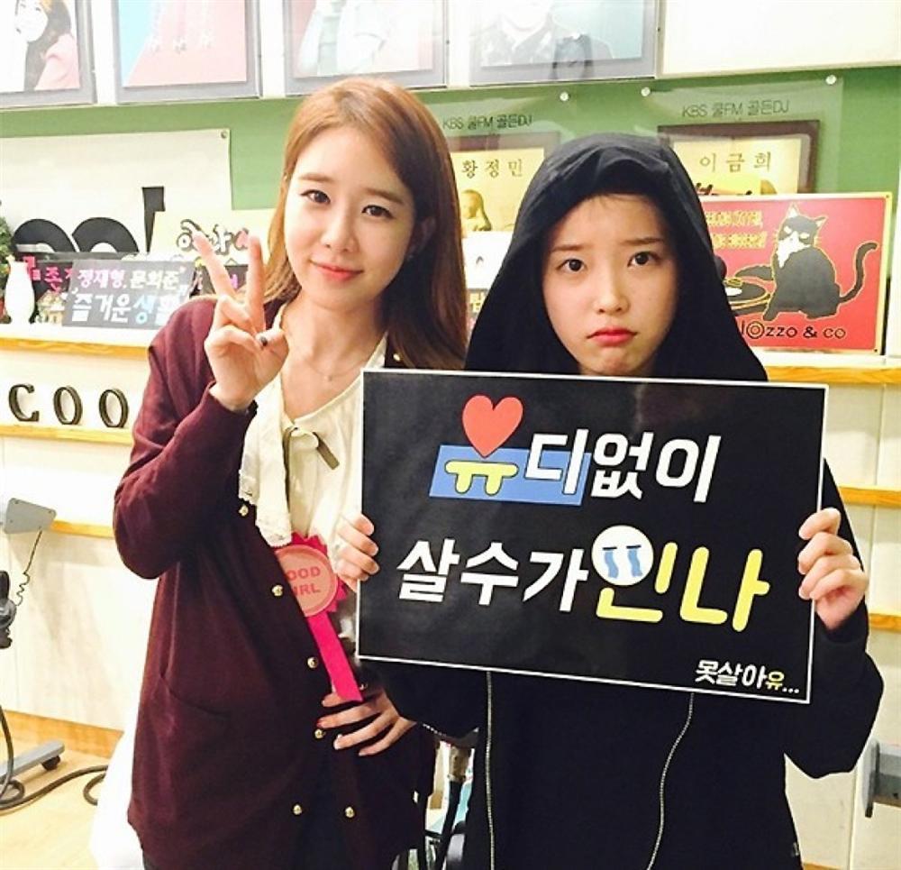 IU - Yoo In Na: Tình chị em 10 năm quyền lực của Kbiz-2