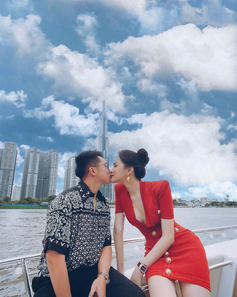 Matt Liu chúc mừng Hương Giang tình bể bình, lần đầu làm điều này với hoa hậu-2