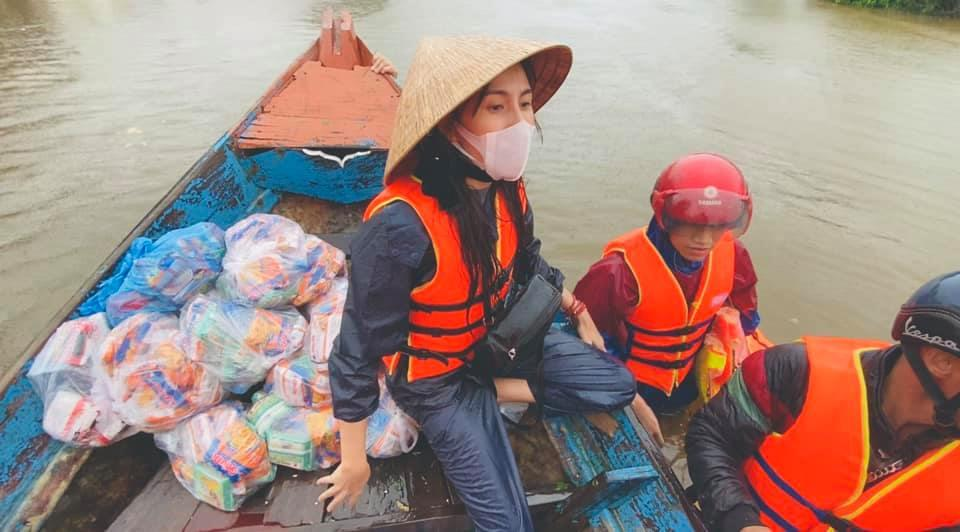 Tài khoản Thủy Tiên nhảy con số hơn 100 tỷ cứu trợ: Tiên bắt đầu lú-1